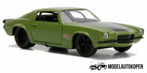 Chevrolet Camaro RS 1973 Fast & Furious (Mat Groen) 1/32 Jada