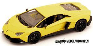 Lamborghini Aventador LP 720-4 (Geel) 1/43 Atlas