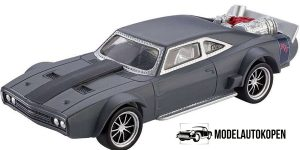 Ice Charger Grey Fast & Furious 1/55 Mattel