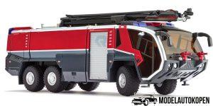 Wiking Miniatuurvoertuig Rosenbauer Flf Panther '13 Zink 1:43 Rood