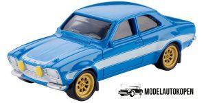 Ford Escort RS1600 MK1 Fast & Furious 1/55 Mattel