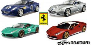 Ferrari Limited Edition Set 4 stuks 1/18 Bburago