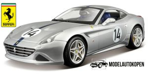 Ferrari California T (Zilver) 1/18 Bburago Limited Edition