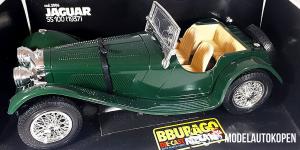 1937 Jaguar SS 100 (Groen)