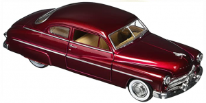1949 Ford Coupe (Bordeaux Rood) 1/24 Motor Max