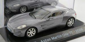 Aston Martin ONE-77 2009 (Zilver) 1/43 Atlas