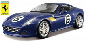 Ferrari California T (Blauw) 1/18 Bburago Limited Edition