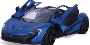 McLaren P1 ( Mat Blauw/ Mat Zwart) 1/24 Motor Max