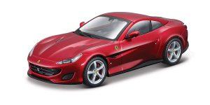 Ferrari Portofino 2018 (Rood) 1/43 Atlas
