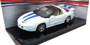 Pontiac Firebird 1999 (Wit/Blauw) 1/24 Motor Max