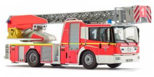 Wiking Miniatuurtruck Mb Econic Brandweer Die-cast Zink 1:43 Rood