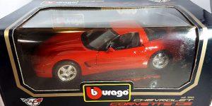 Chevrolet Corvette C5 1997 (Rood) 1/18 Bburago