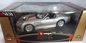 1988 Shelby Series 1 (Zilver) 1/18 Bburago