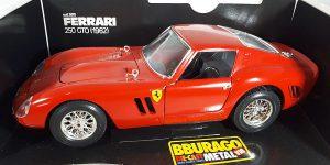 1962 Ferrari 250 GTO (Rood) 1/18 Bburago
