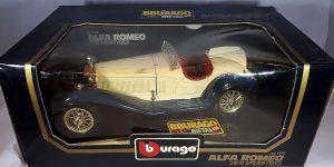 1932 Alfa Romeo 2300 Spider (Crème) 1/18 Bburago