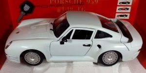 Porsche 959 (Wit) 1/18 Tonka