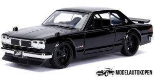 Nissan Skyline 2000 GT-R Fast & Furious (Zwart) 1/32 Jada