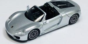 Porsche 918 Spyder 2013 (Zilver) 1/43 Atlas