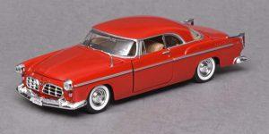 Chrysler C300 1955 (Rood) 1/24 Motor Max