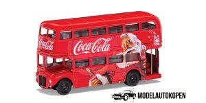 Coca-Cola Christmas London Bus 1/43 Corgi