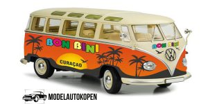 Volkswagen T1 Samba 1950 Bon Bini Curacao (Oranje) 1/43 Cararama