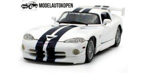 Dodge Viper GT2 (Wit) 1/18 Maisto