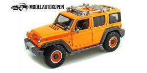 Jeep Rescue Concept (Oranje) 1/18 Maisto Premiere Edition