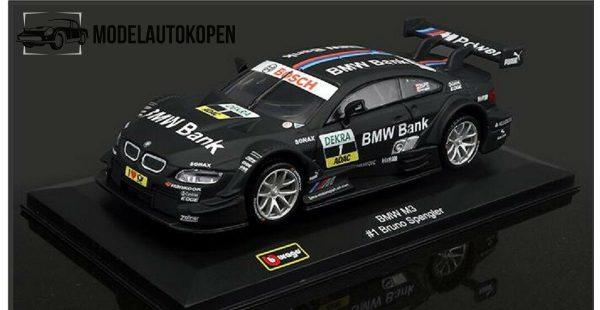 BMW M3 #1 Bruno Spengler (Zwart) 1/32 Bburago