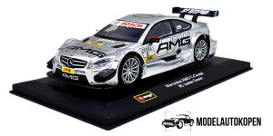 Mercedes AMG C-Coupé #5 Jamie Green (Zilver) 1/32 Bburago