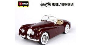 Jaguar XK 120 Roadster (1951) Rood 1/24 Bburago