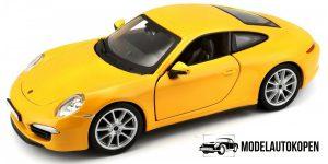 Porsche 911 Carrera S (Geel) 1/24 Bburago