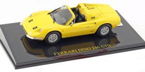 Ferrari Dino 246 GTS (Geel) 1/43 Atlas