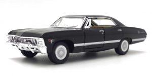1967 Chevrolet Impala (Zwart) 1/36 Kinsmart