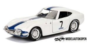 1967 Toyota 2000 GT #7 (Wit)