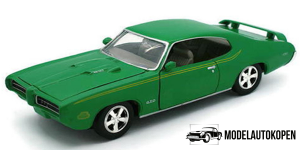 1969 Pontiac GTO Judge (Groen)