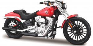Harley Davidson Breakout 2016 (Rood) 1/18 Maisto