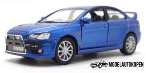 2008 Mitsubishi Lancer Evolution X (Blauw)