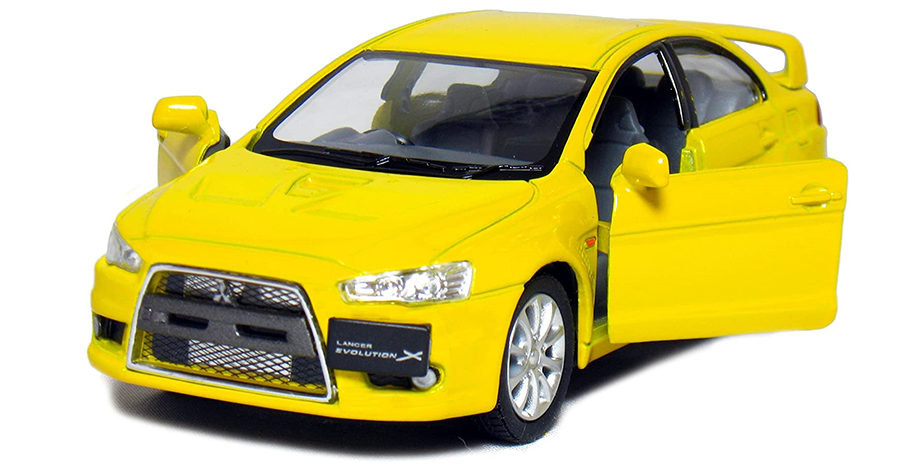 2008 Mitsubishi Lancer Evolution X (Geel)