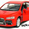 2008 Mitsubishi Lancer Evolution X (Rood)