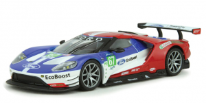 2017 Ford GT Race Car #67 (Rood/Wit/Blauw) 1/32 Bburago