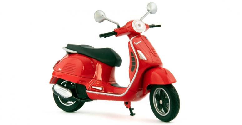 Vespa schaalmodel scooters