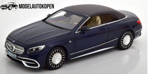 2018 Mercedes-Benz Maybach S650 Cabriolet (Blauw)