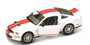 Shelby GT 500 (Wit) 1/24 Lucky Die Cast