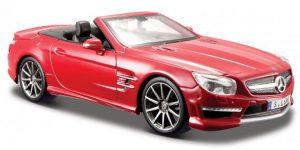 Mercedes-Benz SL 63 AMG (Rood) 1:24 Maisto
