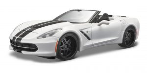 2014 Corvette Stingray (Wit) 1/24 Maisto