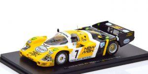 Porsche 956 #7 Winner Le Mans 1984 (Zwart/Geel) 1/43 Spark