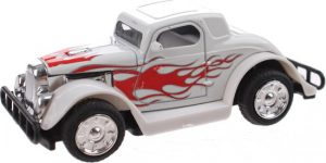 Hot Rod Auto Metal Pull Back (Wit) 9 cm Toi Toys
