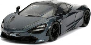 Shaw's McLaren 720S (Grijs) (Hobbs & Shaw) 1/24 Jada