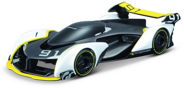 McLaren Vision Gran Turismo (Zwart/Wit) 1/32 Maisto