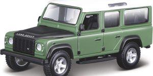 Land Rover Defender 110 (Groen) 1/32 Bburago